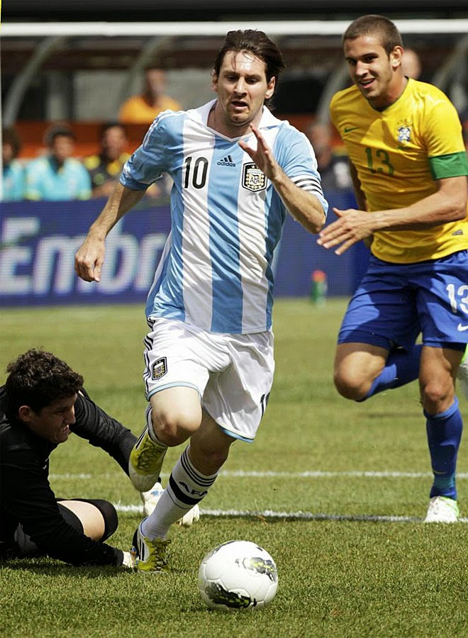 Bruno Uvini marca Messi