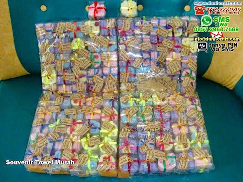 Souvenir Towel Murah Handuk Cengkareng