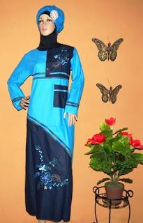 Grosir baju muslim bahan katun GK2252