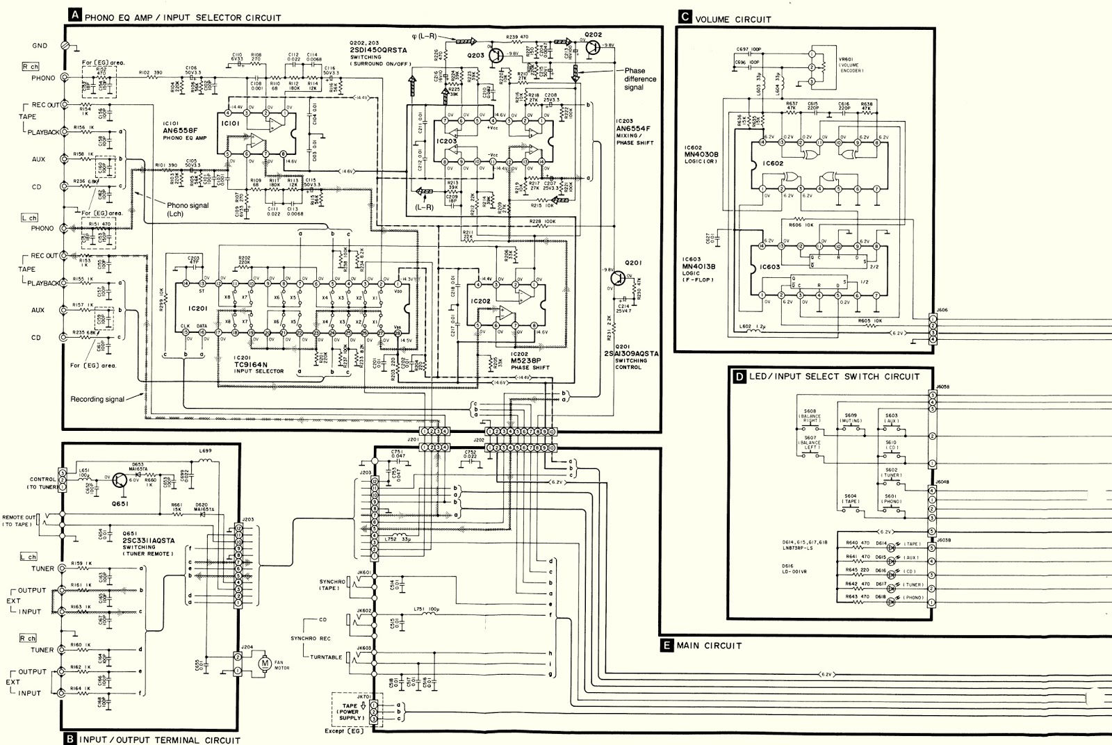 Technics Home Stereo Wiring Diagram Diagrams Images Gallery