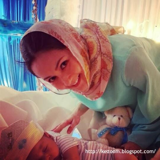 10 Gambar Sekitar Majlis Cukur Jambul Anak Yasmin Hani