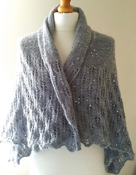 Sky Full of Stars Convertible Shrug on Crafts from the Cwtch Blog
