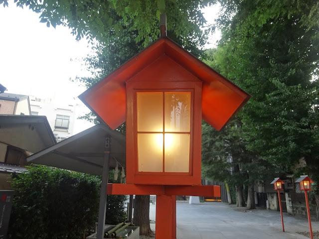 灯篭,赤城神社,神楽坂,東京〈著作権フリー無料画像〉Free Stock Photos
