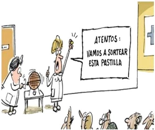 humor grafico. Recortes en la sanidad