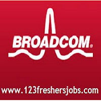 Broadcom Freshers Job Openings 2015