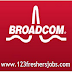 "Broadcom Hiring BS/BE/BTECH/ME/MTECH Freshers for ""Engineer IC-Designer"" position"