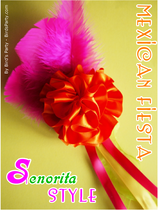 TUTORIAL: Mexican Senorita DIY Hair Accessory for your Cinco de Mayo Celebrations!