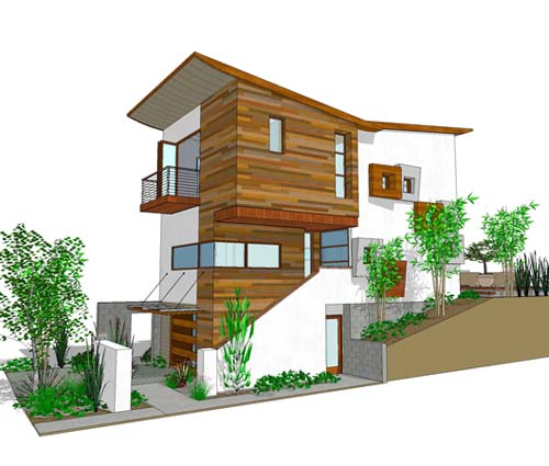 3 level house plans with 3 bedrooms current enter your for Modern house style names