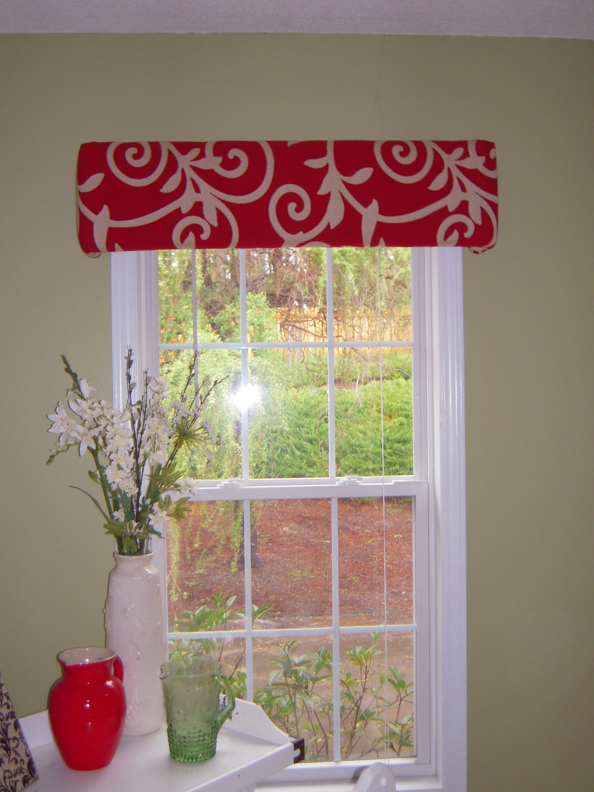 All things harrigan diy building a cornice board Simple window treatments