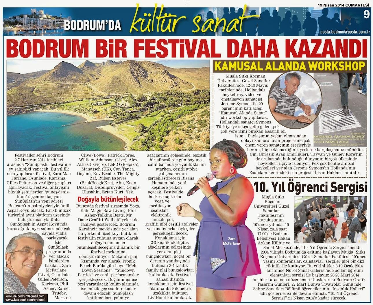 40 BODRUM BİR FESTİVAL DAHA KAZANDI