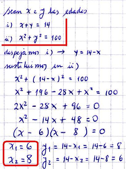 psu-matematicas: Desafío - Sistema Ecuaciones Cuadráticas 2 Incógnitas