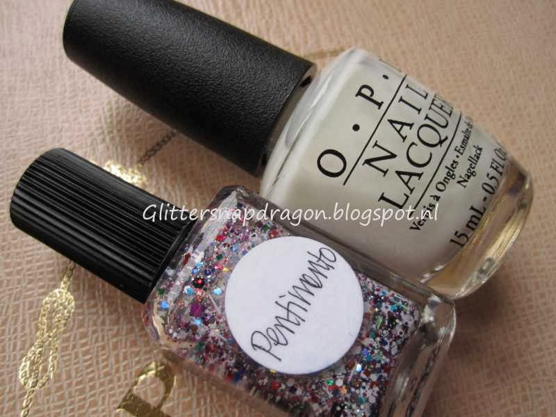 Lynnderella Pentimento OPI Don't Touch My Tutu!