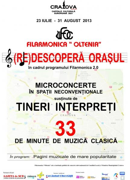 Filarmonica 2.0 (RE)descopera orasul