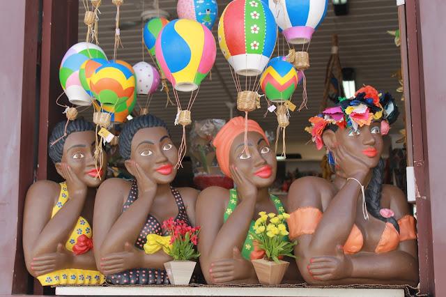 Paraty, Centro histórico, Rio, bonecas namoradeiras, brinquedos cabaça