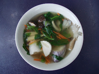 Yong Tau Fu Soup (7 items), S$ 3.50