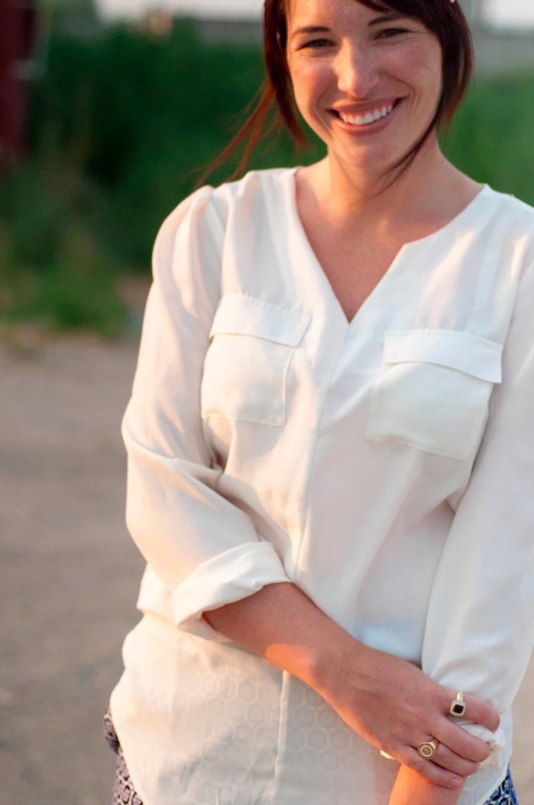 fashion blog, style blog, target style, white blouse, target clothing, ootd, kelsey bang, utah style blogger