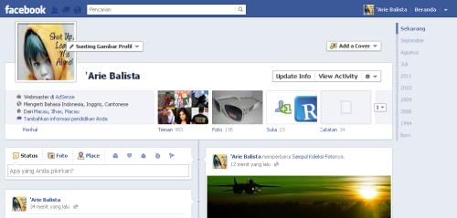 Cara Mengaktifkan Timeline di Facebook