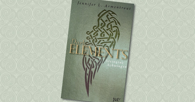 Dark Elements Steinerne Schwingen Jennifer L Armentrout Harper Collins Cover