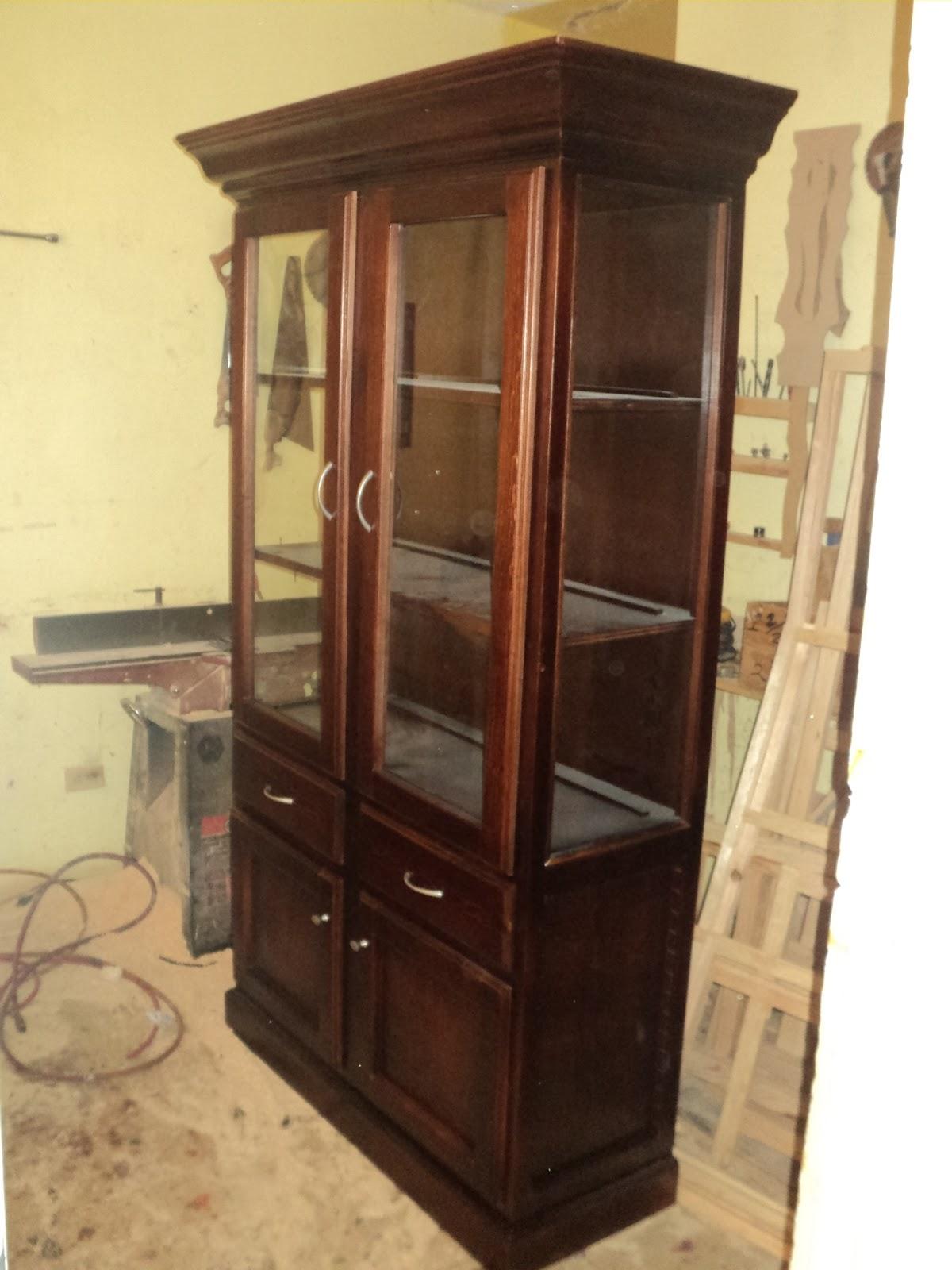 Carpinteria y muebles diaz vitrinas for Muebles diaz