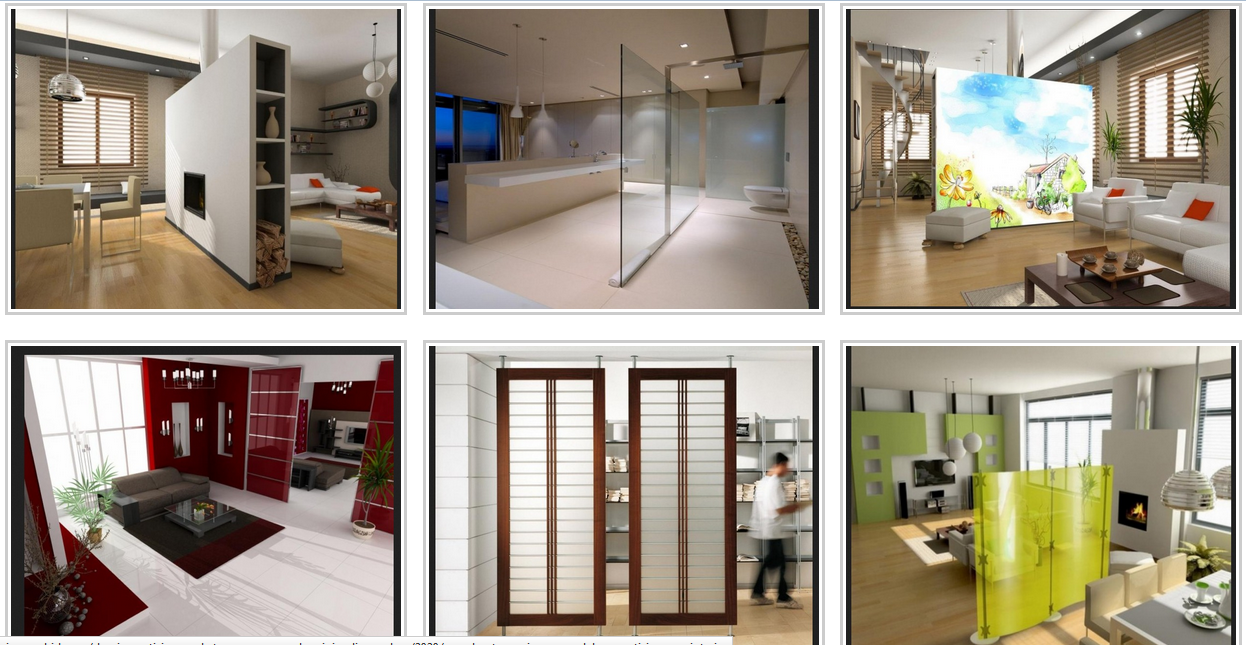 perabotan rumah tangga dan penyekat ruangan minimalis modern