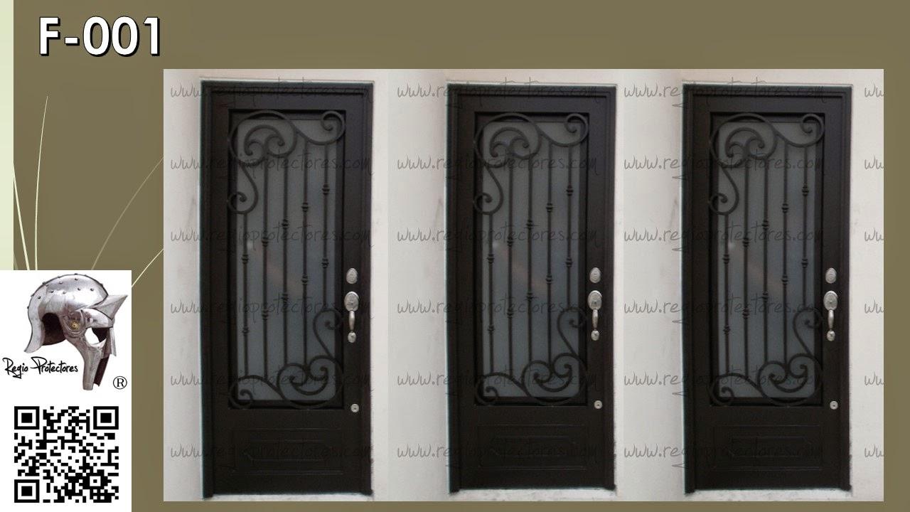 Regio protectores puertas coloniales for Modelos de puertas principales para casas