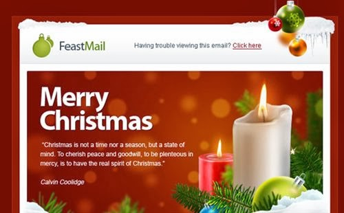 Top Free Email Christmas Cards Templates