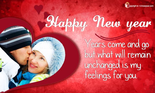 Happy New Year 2014 Romantic Wishes Greeting Cards