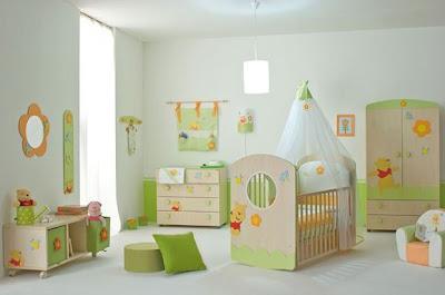 Baby room s omiljenim likovima iz crtica