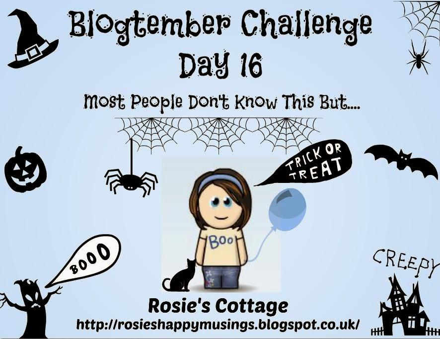 Blogtember 2014 Day 16 Halloween