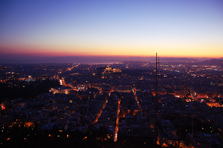 Mount Lycabettus_Athens Greece must see