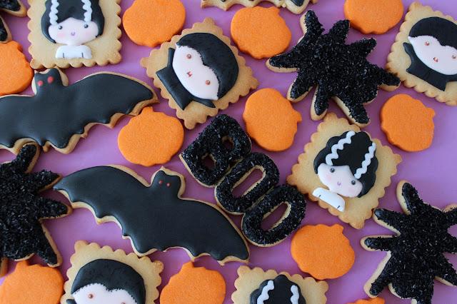Galletas decoradas Halloween