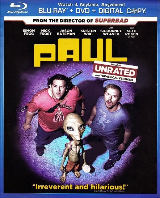Paul 2011 Theatrical Cut Hindi Dubbed Dual Audio 5.1 BRRip 720p