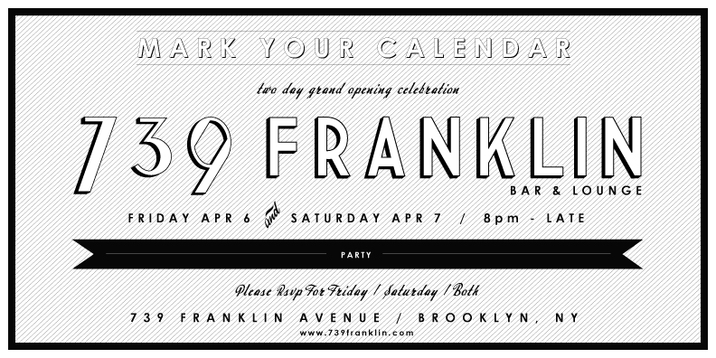 I Love Franklin Ave 739 Franklin Grand Opening This Weekend