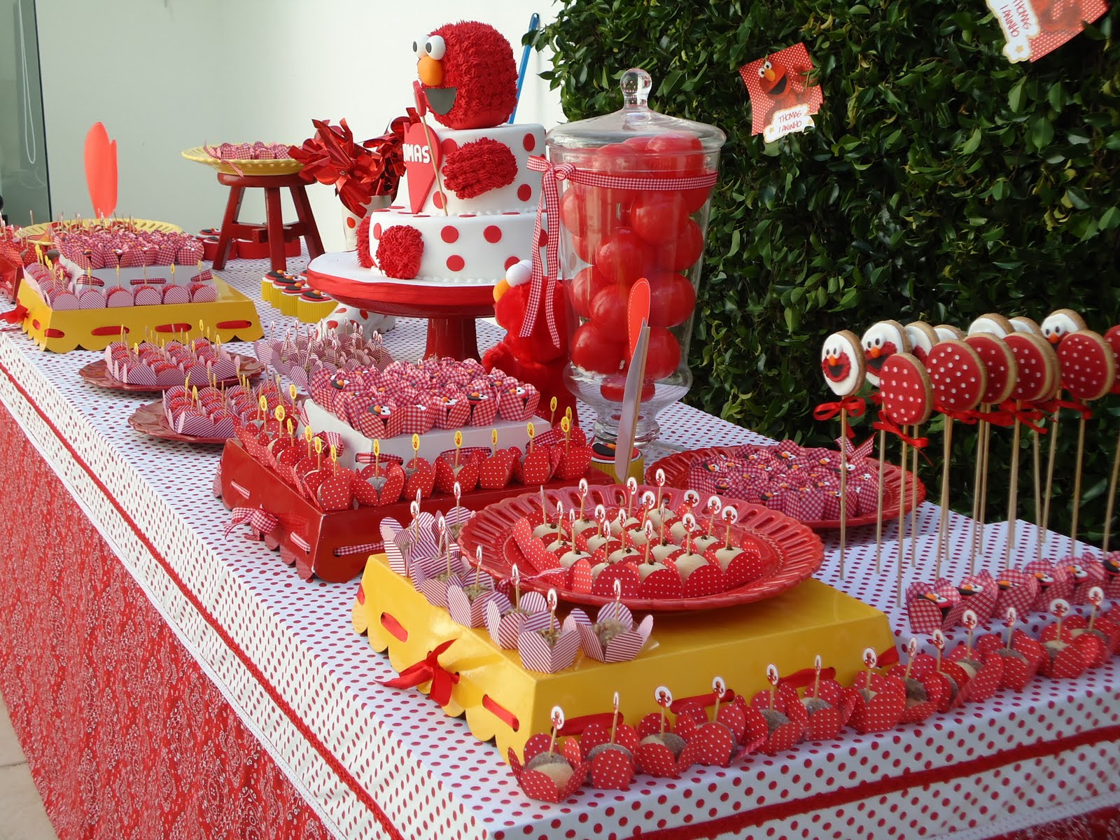 Elmo Birthday Party Decorations Ideas