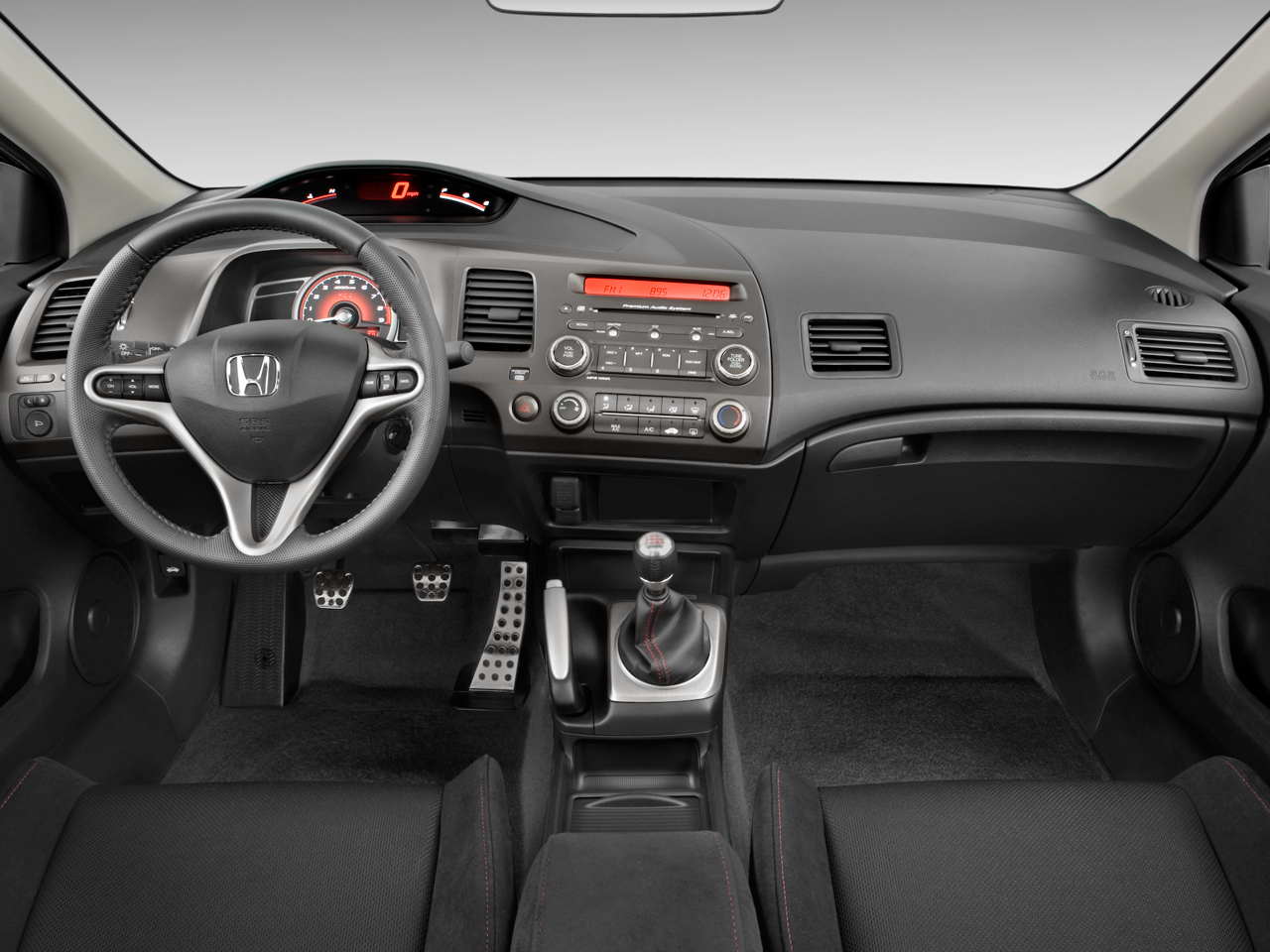 Honda Civic Si Interior
