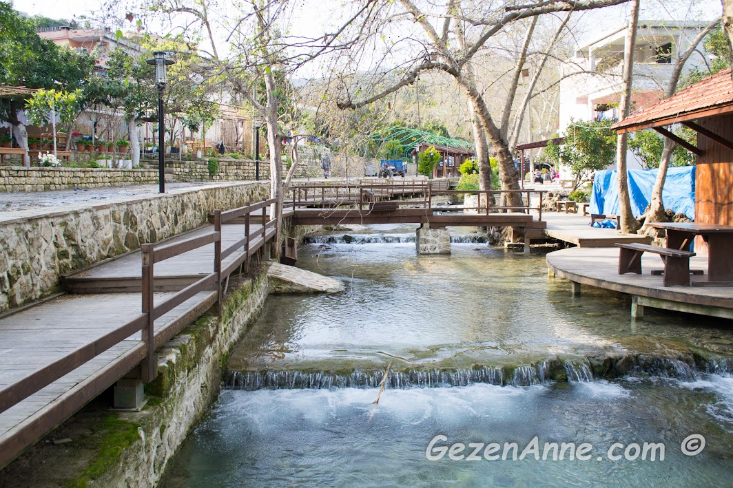 çok güzel düzenlenmiş olan Musa Ağacı çevresi ve deresi, Hıdırbey köyü Samandağ Hatay