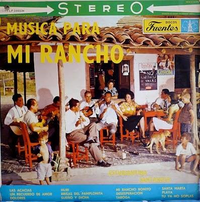 Estudiantina Santander Musica para Mi rancho