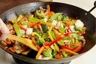 homemade stir fry