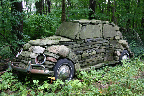 Rock and Rool Art Car