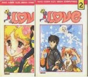 Komik lama Love by Yu Asagiri Bekas
