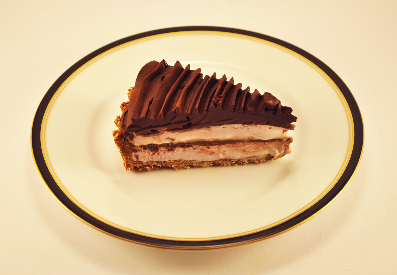 vegan ascent: Chocolate Cherry Amaretto Pie