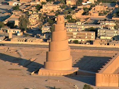 gran mezquita samarra de minaret of samarra mosque irak