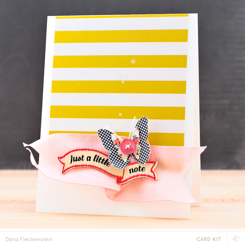 Studio Calico Office Hours main kit only card by @pixnglue