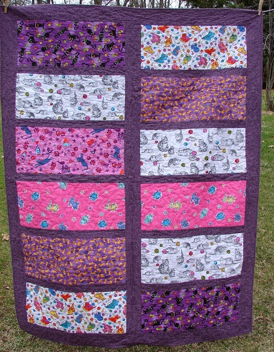 Quilting Patterns With Fat Quarters : The Life of Riley: Easiest Fat Quarter Quilt Ever - Tutorial