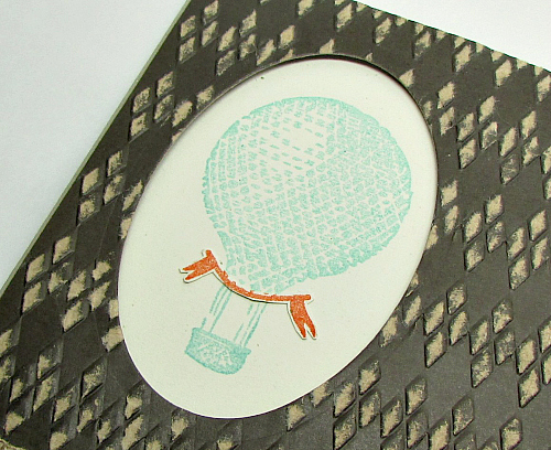 Vintage hot air balloon | You're Amazing Stamp Set by Stampin' Up!