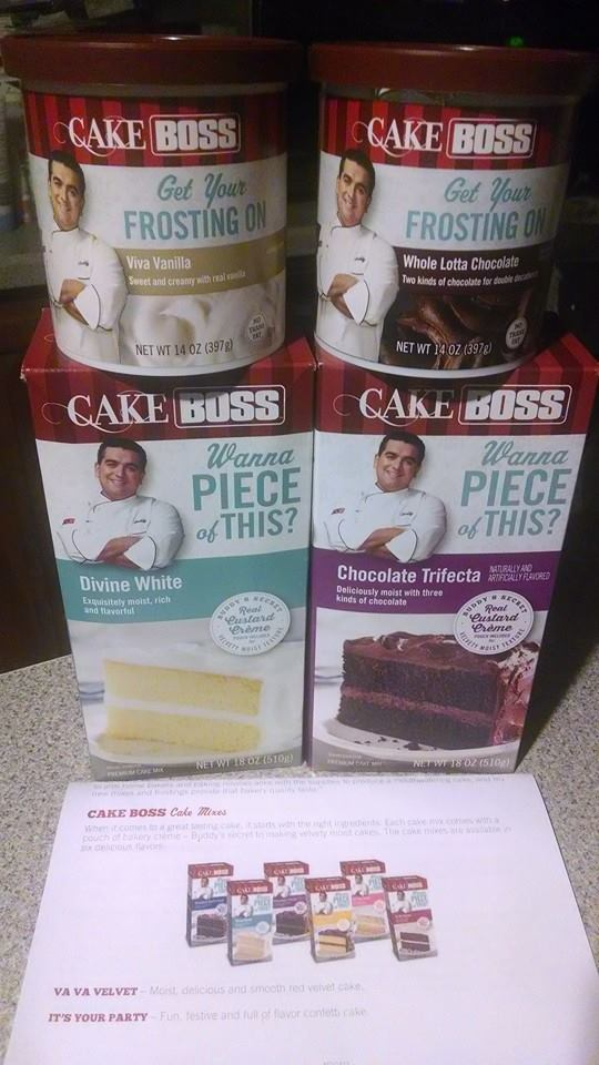 Cake Boss Decorating Frosting : Inspired by Savannah: Now Available in Stores -- Cake Boss ...