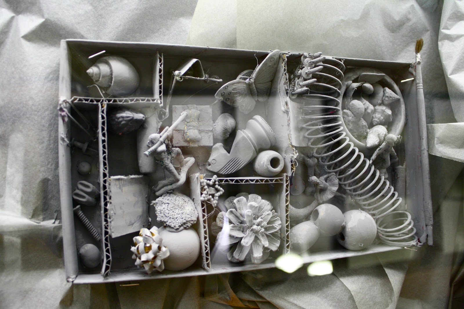 Louise Nevelson Assemblage