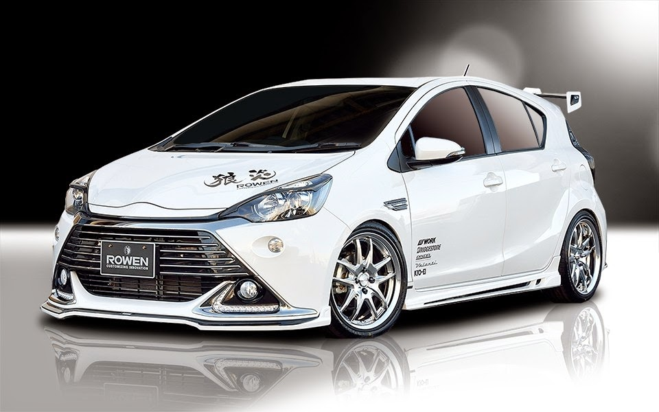 Tuning Toyota Prius C Von Rowen International Myauto24