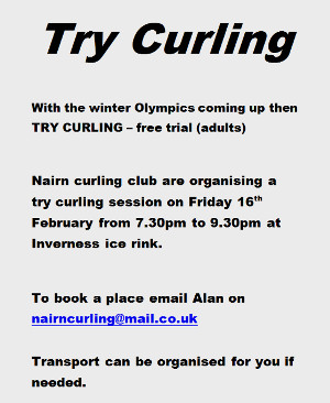 Try Curling?