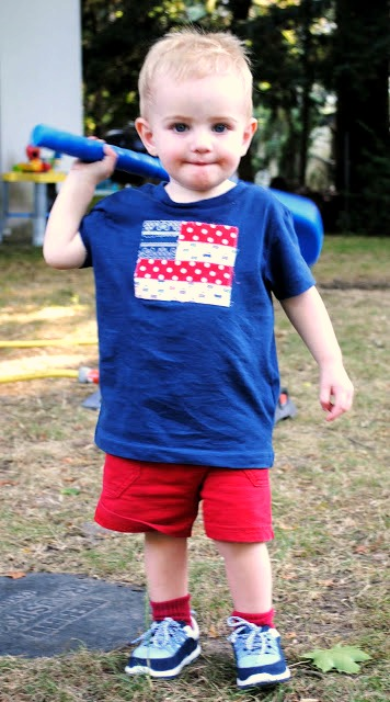 Fourth of July Flag Shirts